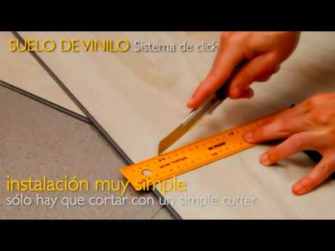 Pisos Vinilicos SONDECASA Sistema Click Sin Pegamento de Alto Transito ML