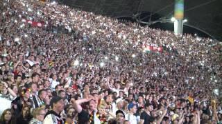Wir sind Weltmeister - Public Viewing im Olympiastadion München