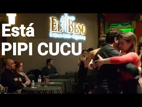 Milonga PIPI CUCU En EL Beso, tango en Buenos Aires