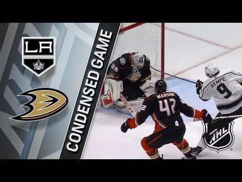Los Angeles Kings vs Anaheim Ducks – Mar. 30, 2018 | Game Highlights | NHL 2017/18. Обзор