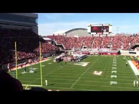Lane Stadium Eruption VT/BC