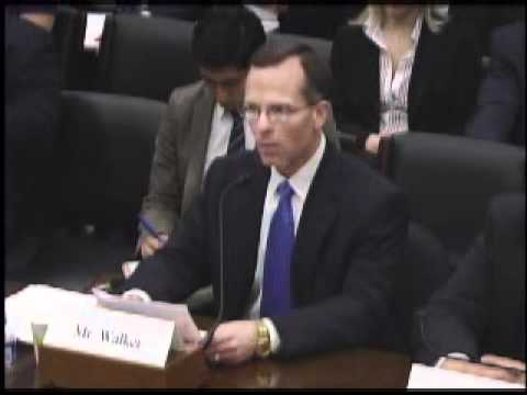 Mr. Monty W. Walker, of Walker Business Advisory Services, Testifying before the Committee