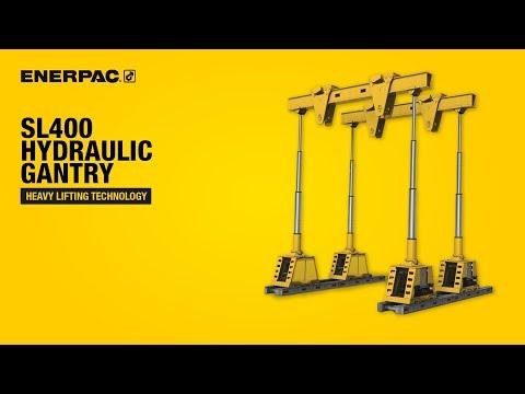 SL400 Hydraulic Gantry | Enerpac Heavy Lifting Technology