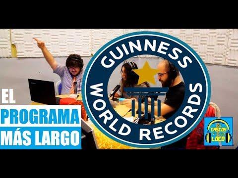 GUINNESS WORLD RECORD | Con el creador del programa de radio más largo: 84 horas