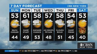 New York Weather: CBS2 10/24 Evening Forecast at 9PM