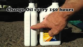 DIY Oil and Air Filter Change for Onan RV-QG 4000 EVAD Generator