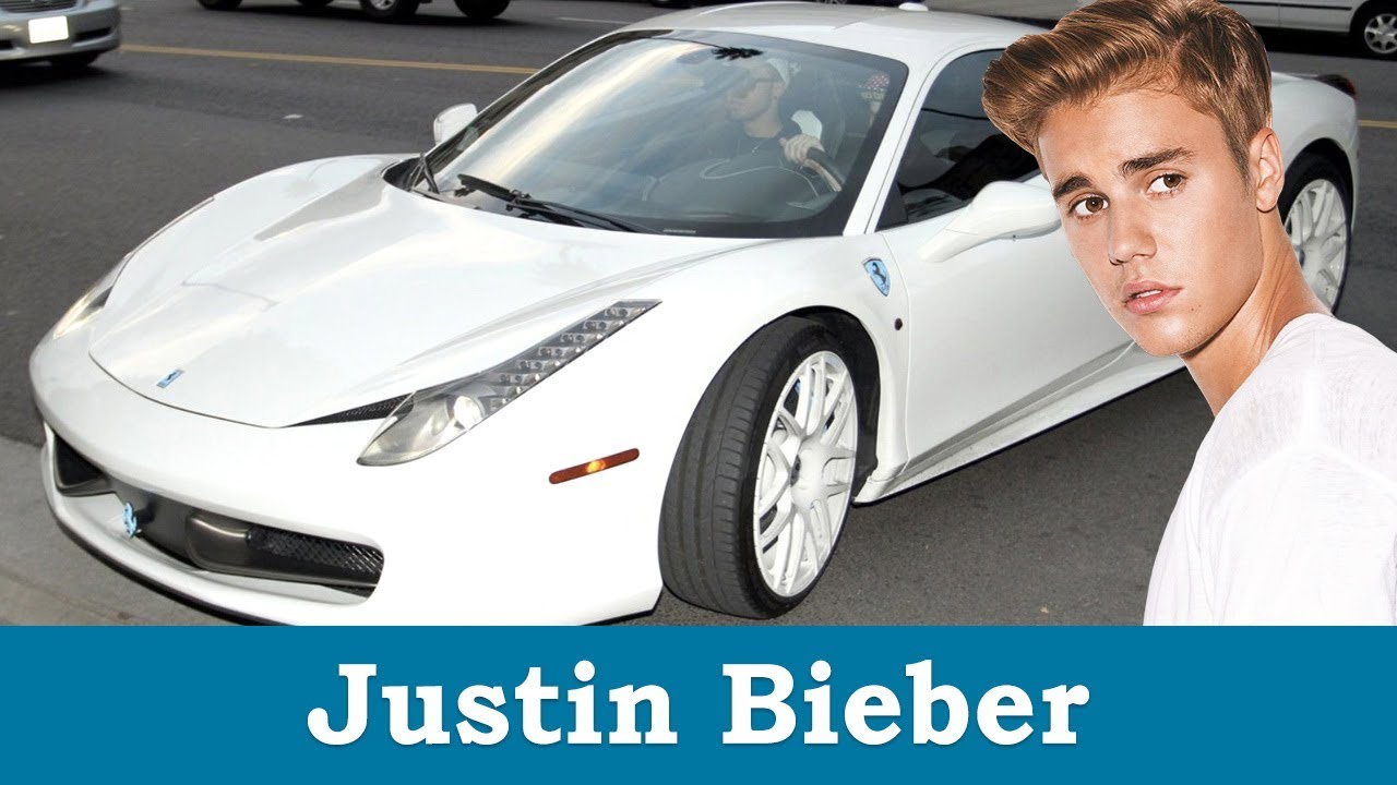 Download Justin Bieber's Cars Collection - 2017 [ New ]