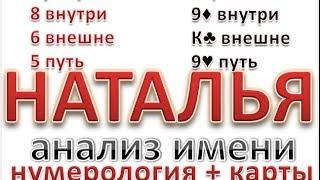 Значение имени Наталья