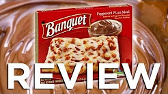 Banquet Reduced Fat Pepperoni Pizza Meal Video Review Freezerburns (Ep539)