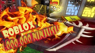 ROBLOX | 1 Million power of Death | 1 Million Ninjusu Asassin Ninja | MinhMaMa
