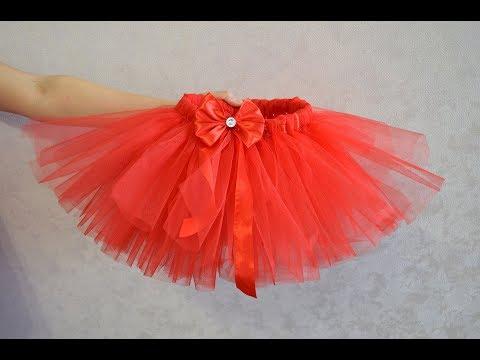 Как сделать фатиновую юбку своими руками