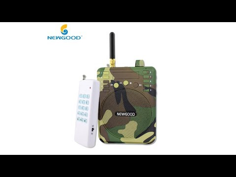 Remote Control Bird Caller Digital Player outdoor hunting trap speaker