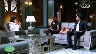هناء غنيم وماجد مكاوي يكشفان سبب اندماجهما في  «دويتو».. فيديو