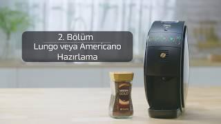 NESCAFÉ Gold Kahve Makinesi 2 Bölüm Lungo Ve Americano Nasıl Hazırlanır
