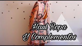 Haul Ropa + Complementos Yoins & AliExpress