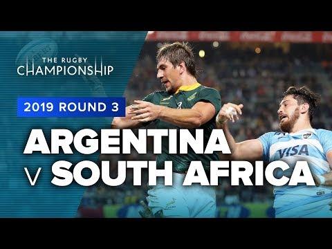 Argentina v South Africa | 2019 TRC Rd 3 Highlights