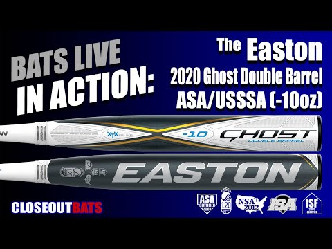 Closeoutbats.com Easton Ghost Fastpitch Bat ASA/USSSA (2020)