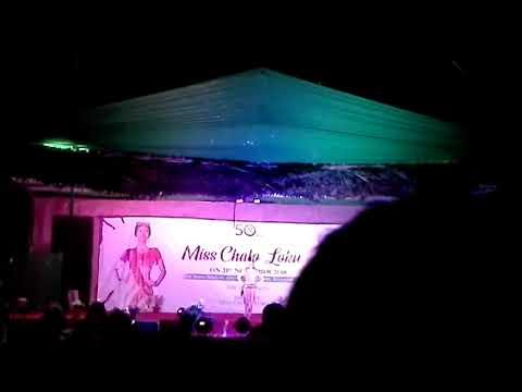 Khonsa fasion show miss tirap 2018