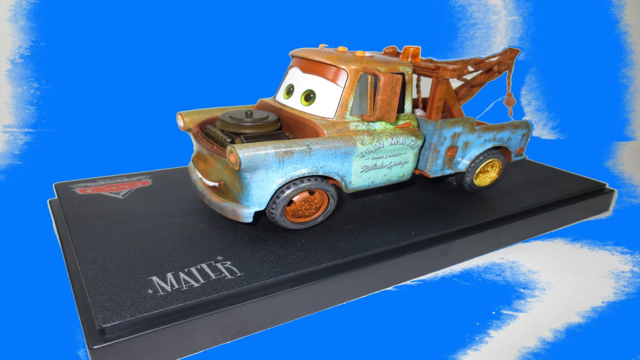 Cars 2 Tow Mater 1 24 Scale Cast Mattycollector Toys
