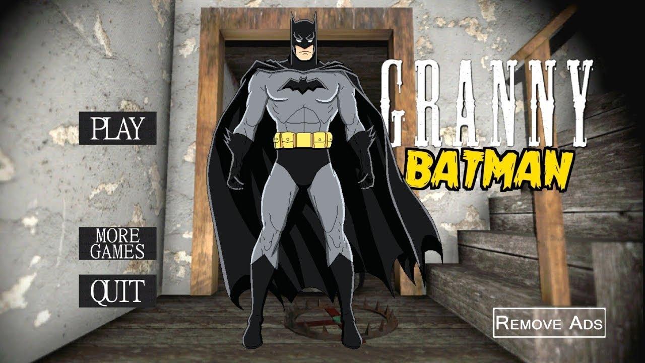 جراني تحولت لي باتمان🦇 😈👹granny is Batman |جراني تحديث الجديد|horror game|grany garnny