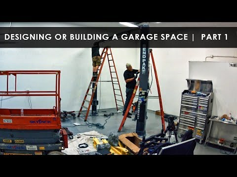 New Garage Setup | Intro and How to Begin |  Part 1