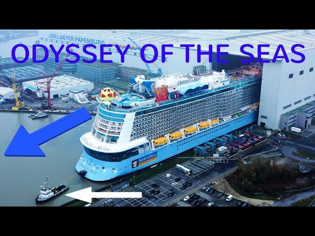 【視頻】海洋奧德賽號正式誕生