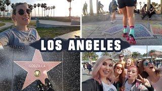 Youtuberzy w Hollywood, wrotki na plaży - VLOG z Los Angeles / LA vlog Agnieszka Grzelak Vlog