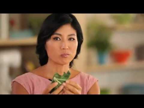 Ani Phyo + Vegetarian Times Magazine: Leaves Make Great Wraps
