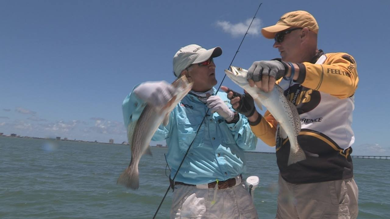 Fox sports outdoors southwest 14 2015 south padre for South padre island fishing report