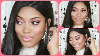 {Tutorial} Glam Romantic Look using MAC Rose Pigment & Makeup Geek *talk through* Thumbnail
