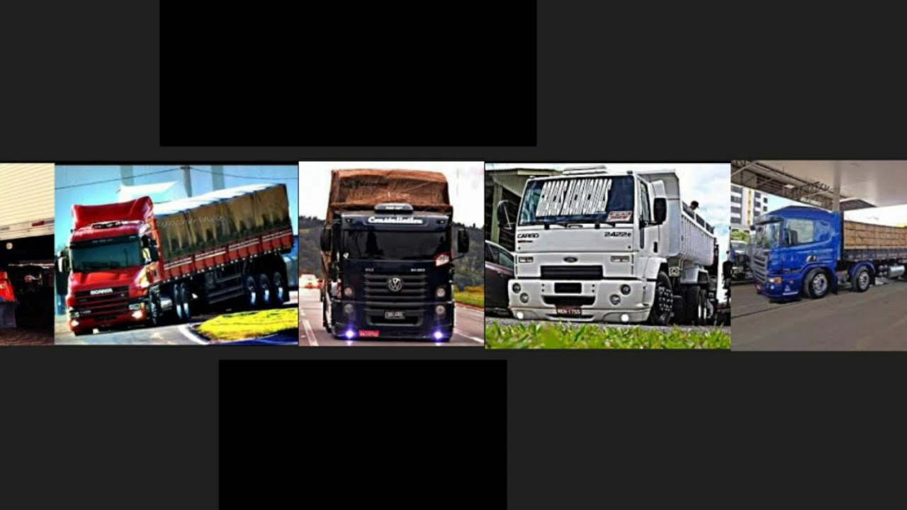 Banner Capa Para Youtube Editável Para Canais De Caminhões Download