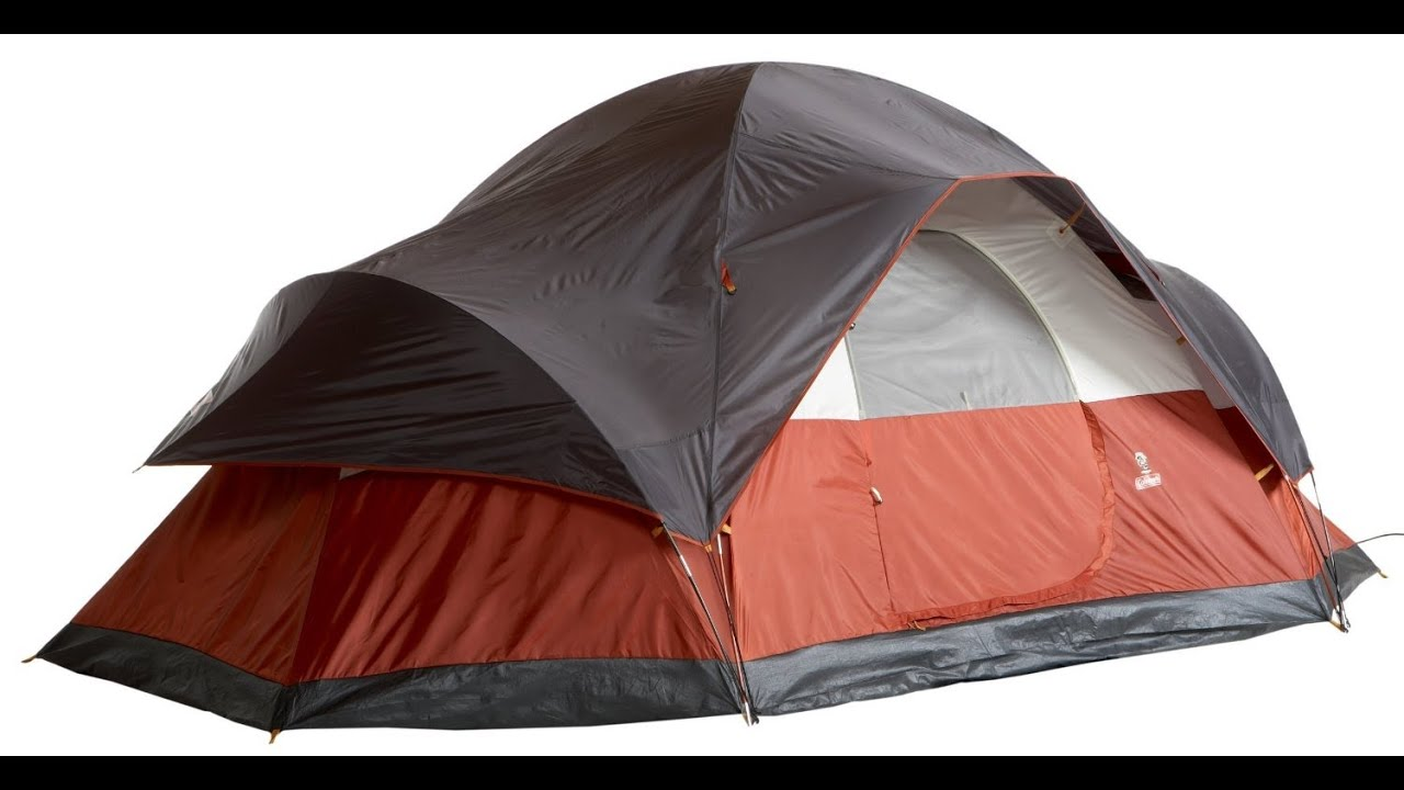 sc 1 st  YouTube & Coleman Red Canyon 8 Person Modified Dome Tent Review - YouTube
