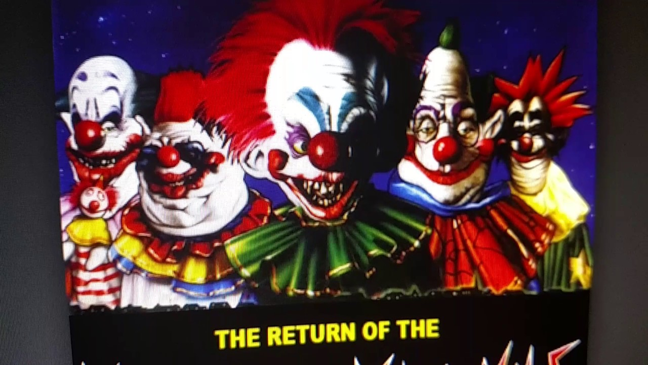 The return of the killer klowns from outer space in 3d for Return of the killer klowns from outer space