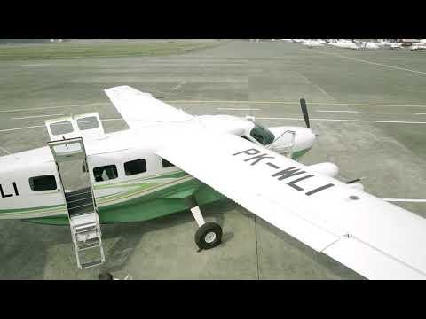 Aircraft  Safety briefing cessna grand caravan 208B EX IMIP whitesky  Aviation
