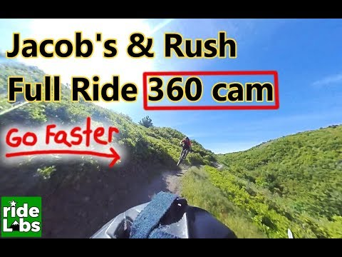 Jacobs Ladder and Rush Trail Corner Canyon in Draper UT | 360 cam