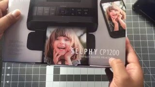 Unboxing & Review Canon Selphy CP1200