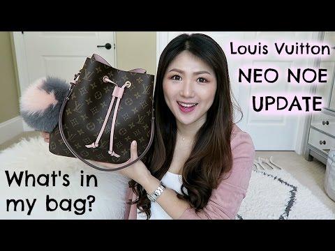 LV NEO NOE! Is It Worth It👍?👎? WHAT'S IN MY BAG+UPDATE