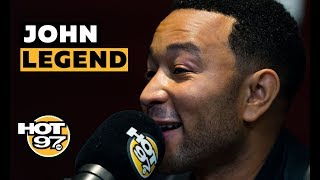John Legend On R. Kelly, Kanye West, + Things He & Chrissy Teigen Have To Work On in Marriage