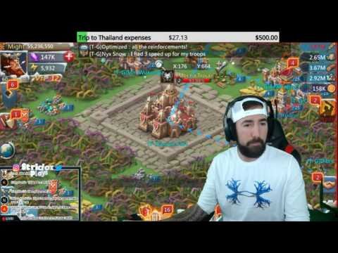 Lords Mobile K16 WAR FOR WONDERS!!!!!