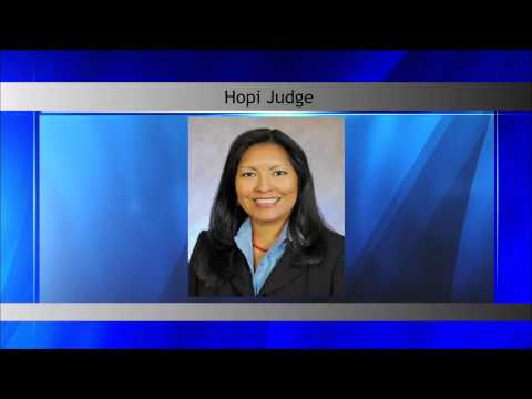 First Native American Woman to Serve on Federal Bench - YouTube
