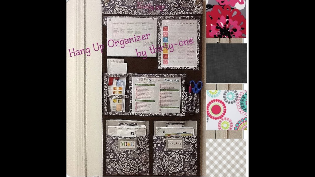 Wall Organizer For Home hang-up home organizer for family - youtube