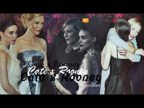 Cate Blanchett x Rooney Mara x together x