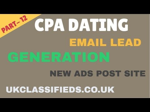 Cpa Dating Email Lead Generation | New Site 2019 | CPA Marketing A TO Z Bangla Tutorial | Part-12