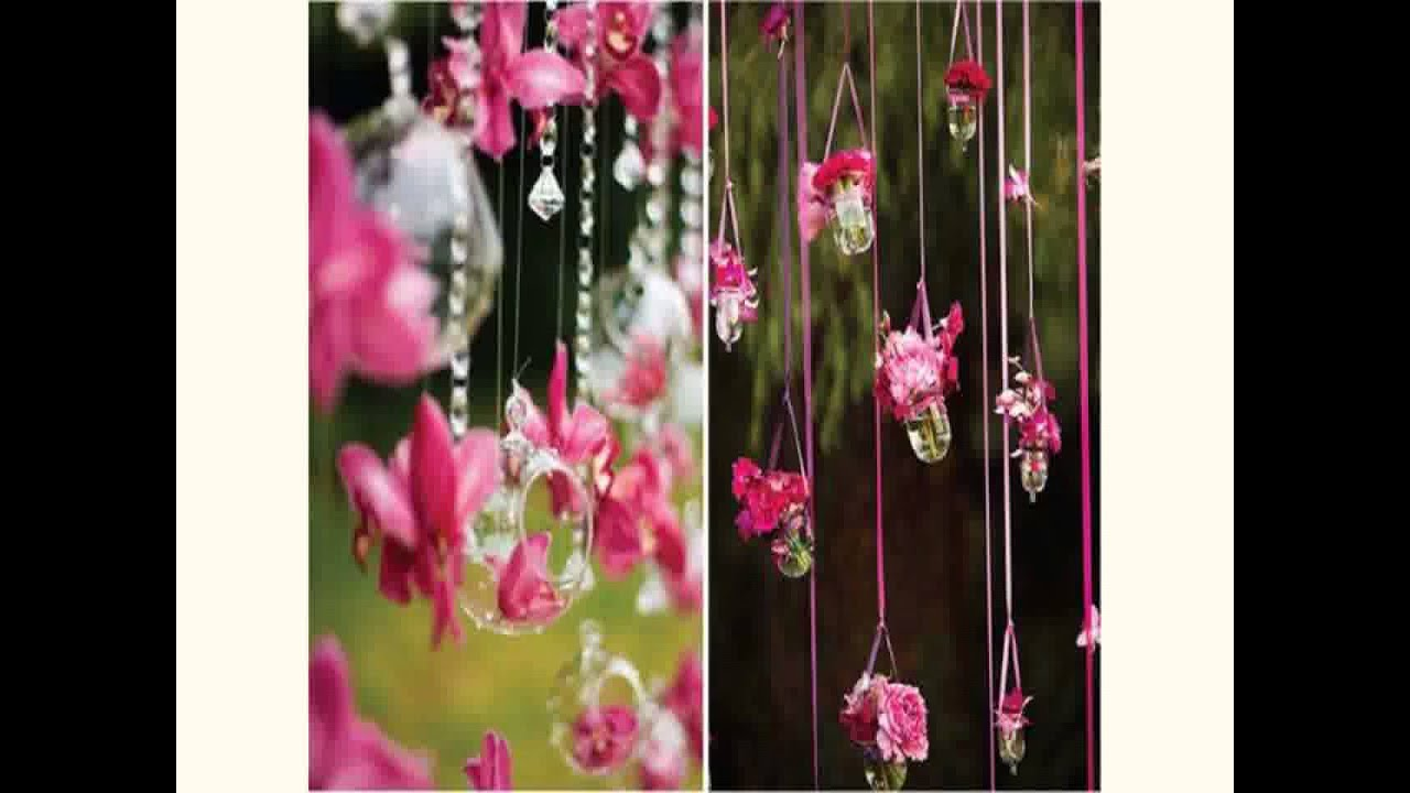 New Wedding Flower Decoration Youtube