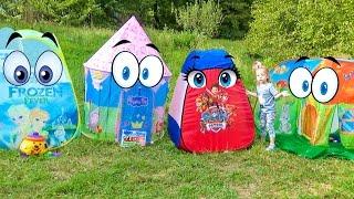 Дисней Новые СУПЕР Игрушки из мультфильмов для детей Домики Disney world 2016 toys for kids