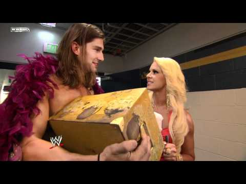 WWE NXT: Lucky Cannon offers Maryse a gift