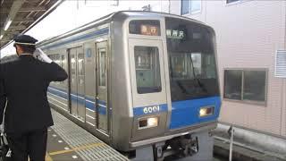 西武6000系6101F 南入曽入庫 @新所沢