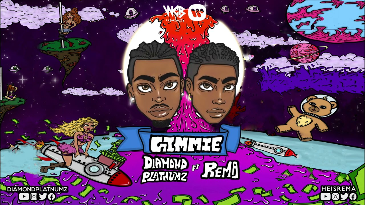 Download Diamond Platnumz Feat Rema - Gimmie (Official Audio)