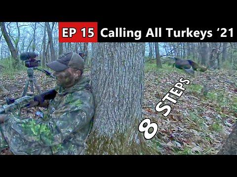 MOST INTENSE TURKEY HUNT EVER! Drumming & Gobbling AT 8 STEPS!!! – Public Land Turkey Hunting