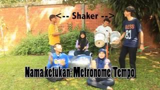 Permainan Perkusi Lagu Daerah Papua Yamko Rambe Yamko